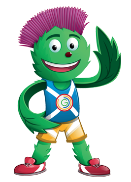 Clyde Mascot Trail - Commonwealth Games